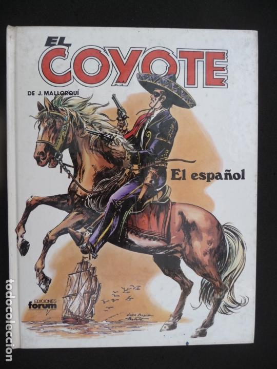 Cómics: COLECCIÓN EL COYOTE. FORUM. COMPLETA EN 8 TOMOS - Foto 10 - 170134892