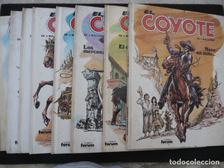 COLECCIÓN EL COYOTE. FORUM. COMPLETA EN 8 TOMOS (Tebeos y Comics - Comics Colecciones y Lotes Avanzados)