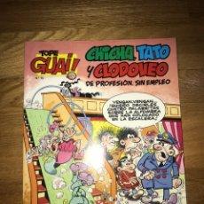 Cómics: CHICHA, TATO Y CLODOVEO DE PROFESIÓN, SIN EMPLEO GRAN HOTEL NÚMERO 15. Lote 170186206