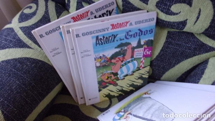 Cómics: lote 9 comics Asterix y Obelix,tapa dura - Foto 2 - 170269068
