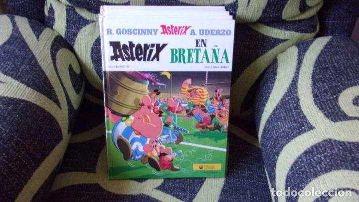 Cómics: lote 9 comics Asterix y Obelix,tapa dura - Foto 4 - 170269068