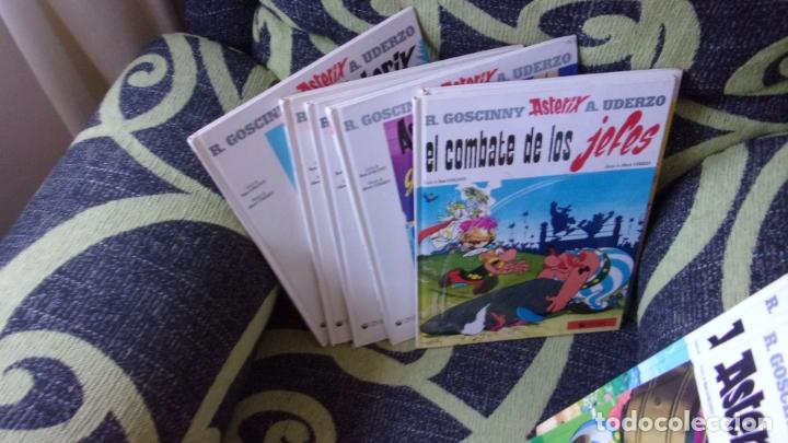LOTE 9 COMICS ASTERIX Y OBELIX,TAPA DURA (Tebeos y Comics - Comics otras Editoriales Actuales)