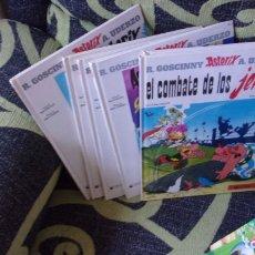 Cómics: LOTE 9 COMICS ASTERIX Y OBELIX,TAPA DURA . Lote 170269068