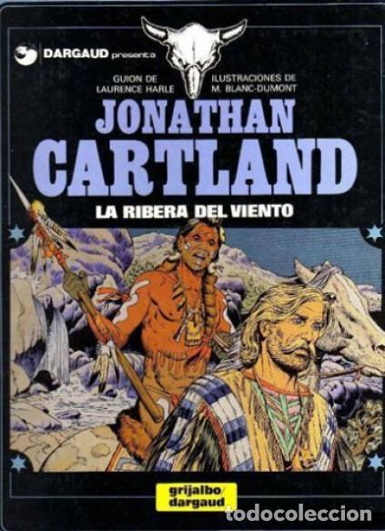 JONATHAN CARTLAND - LA RIBERA DEL VIENTO - GRIJALBO (Tebeos y Comics - Comics otras Editoriales Actuales)