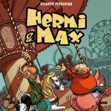 Cómics: HERMI & MAX - PAREJA DE DESECHO - RICARDO PEREGRINA. Lote 170274112
