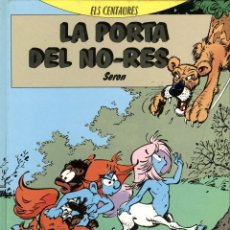 Cómics: ELS CENTAURES-1: LA PORTA DEL NO-RES (BARCANOVA, 1991) DE SERON. EN CATALÀ.. Lote 170317764