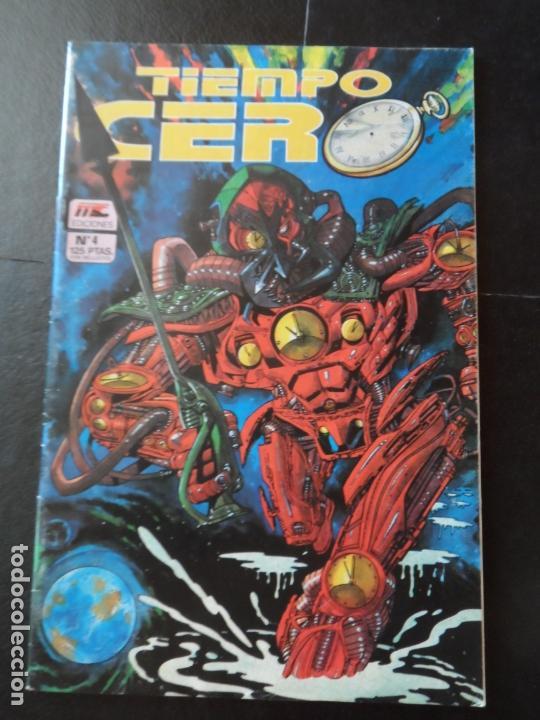 TIEMPO CERO - Nº 4 - MC EDICIONES. (Tebeos y Comics - Comics otras Editoriales Actuales)