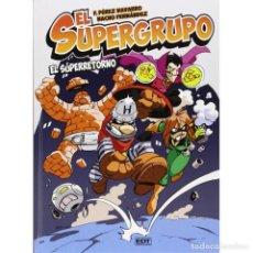 Cómics: CÓMICS. EL SUPERGRUPO. EL SUPERRETORNO - NACHO FERNÁNDEZ/F. PÉREZ DESCATALOGADO!!! OFERTA!!!. Lote 170421568