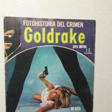 Cómics: RARO! - GOLDRAKE N° 1 - ORIGINAL AÑO 1971 - FOTONOVELA ADULTOS - EDICIONES RECORD - ARGENTINA. Lote 170498944