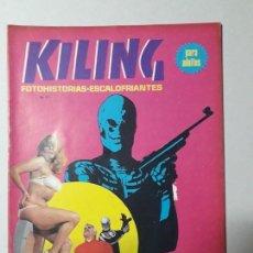 Cómics: KILING N° 124 - HORROR - CAZA MORTAL - COMIC ADULTOS ARGENTINA. Lote 54586892