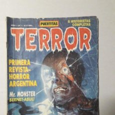 Cómics: PUERTITAS TERROR! - N° 1 - ORIGINAL EL GLOBO EDITOR S.R.L. - ARGENTINA (1990). Lote 170505116