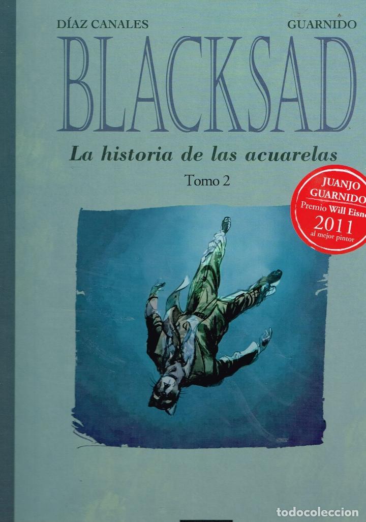 BLACKSAD.LA HISTORIA DE LAS ACUARELAS.VOL. 2.NORMA EDITORIAL (Tebeos y Comics Pendientes de Clasificar)