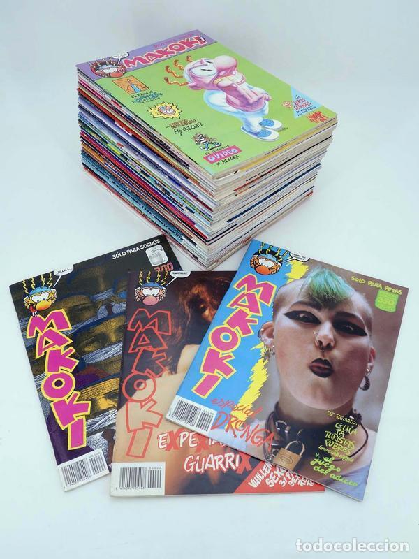 MAKOKI SEGUNDA ÉPOCA COLECCIÓN COMPLETA NºS 1 A 34 + 3 EXTRAS (VVAA) MAKOKI, 1989. OFRT (Tebeos y Comics - Comics Colecciones y Lotes Avanzados)
