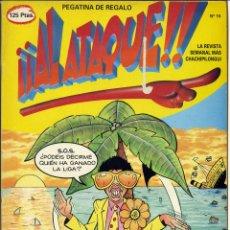 Cómics: ¡¡ AL ATAQUE !! Nº 16 - 1993 REVISTA SEMANAL MÁS CHACHIPILONGUI. Lote 170930469