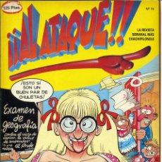 Cómics: ¡¡ AL ATAQUE !! Nº 14 - 1993 REVISTA SEMANAL MÁS CHACHIPILONGUI. Lote 170930519