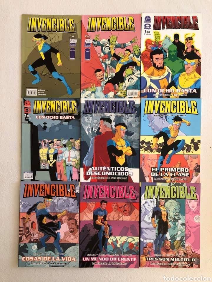 INVENCIBLE DE KIRKMAN-TOMOS DE 1 AL 14-ALETA/DOLMEN (Tebeos y Comics - Comics otras Editoriales Actuales)