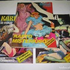 Cómics: KARLA LA MAGA - COLECCIÓN COMPLETA - 1976 - NÚM. 1 - 2 - 3. Lote 196494843