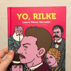 Cómics: YO, RILKE, LAURA PÉREZ VERNETTI - CÓMIC - LUCES DE GÁLIBO. Lote 171064364