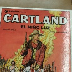 Cómics: CARTLAND 8 VOLUMENES MAS UN EXTRA JONATHAN CARLAND. Lote 171095535