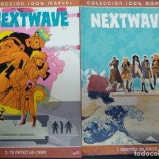 Fumetti: NEXTWAVE COLECCIÓN COMPLETA 2 NÚMEROS PANINI CÓMICS MARVEL. Lote 171133757