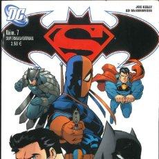 Cómics: SUPERMAN/ BATMAN NÚMERO 7 PLANETA DEAGOSTINI DC. Lote 171311830