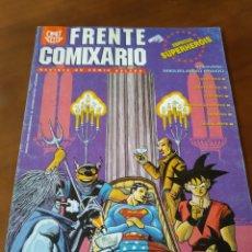 Cómics: FRENTE COMIXARIO. N 6. ESPECIAL SUPERHEROE. Lote 171320802