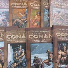 Cómics: LAS CRÓNICAS DE CONAN. TOMOS DEL 1 AL 9. FORUM. Lote 171369153