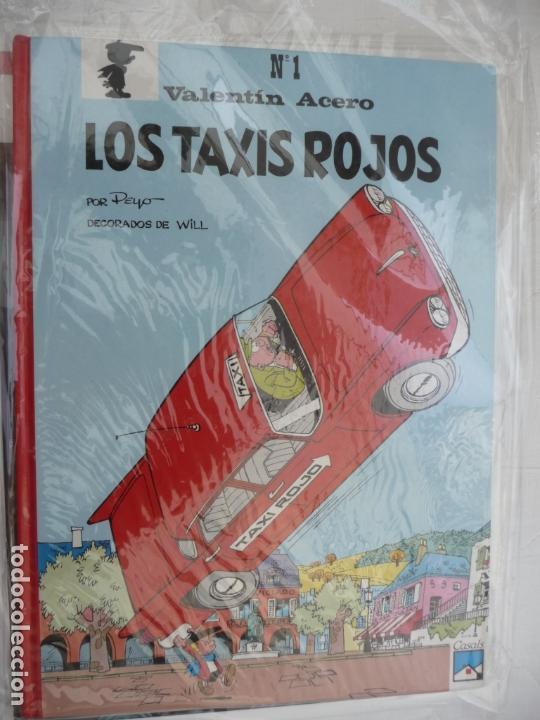 VALENTÍN ACERO - Nº 1 - LOS TAXIS ROJOS - PEYO - TAPA DURA. EDITORIAL CASALS (Tebeos y Comics - Comics otras Editoriales Actuales)