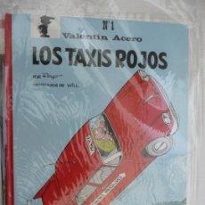 Cómics: VALENTÍN ACERO - Nº 1 - LOS TAXIS ROJOS - PEYO - TAPA DURA. EDITORIAL CASALS. Lote 171370275