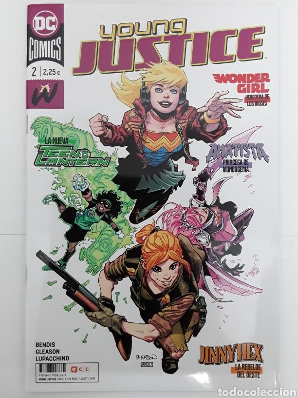 YOUNG JUSTICE 2 (GRAPA) - BENDIS, GLEASON, LUPACCHINO - ECC CÓMICS (Tebeos y Comics - Comics otras Editoriales Actuales)