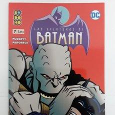 Cómics: LAS AVENTURAS DE BATMAN 7 (GRAPA) - PUCKETT, PAROBECK - ECC CÓMICS. Lote 171414532