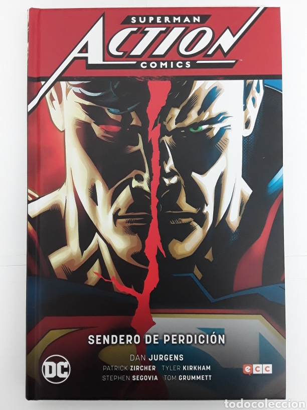 SUPERMAN. ACTION CÓMICS. SENDERO DE PERDICIÓN - JURGENS, ZIRCHER, KIRKHAM, SEGOVIA, GRUMMETT - ECC (Tebeos y Comics - Comics otras Editoriales Actuales)