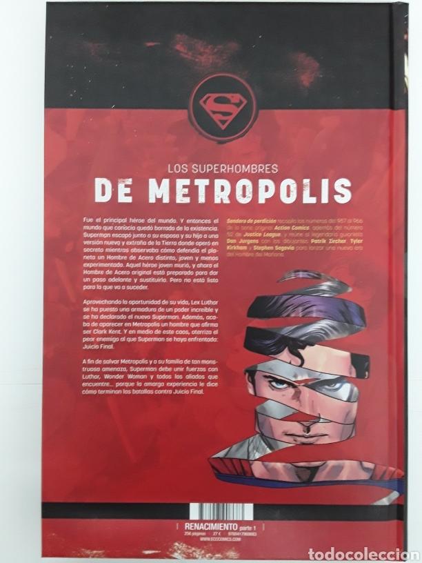 Cómics: Superman. Action cómics. Sendero de perdición - Jurgens, Zircher, Kirkham, Segovia, Grummett - ECC - Foto 2 - 171416949