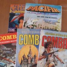 Cómics: LOTE 5 ANTIGUOS COMICS BELICOS. Lote 171488447