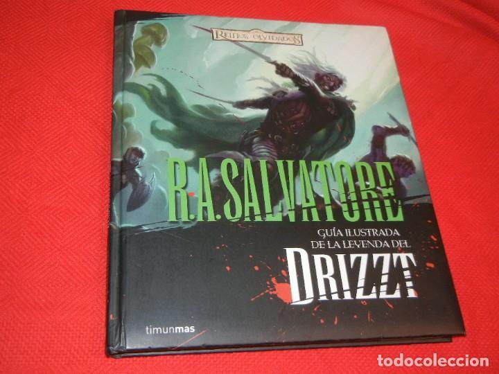 GUIA ILUSTRADA DE LA LEYENDA DEL DRIZZT. REINOS OLVIDADOS, DE R.A.SALVATORE - TIMUNMAS 2009 (Tebeos y Comics - Comics otras Editoriales Actuales)