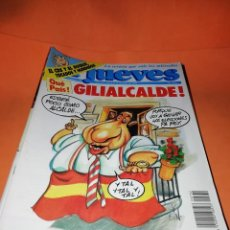Cómics: EL JUEVES. REVISTA.LOTE . NUMEROS DEL 732 AL 756. FALTA EL 747. BUEN ESTADO GENERAL.. Lote 171573348