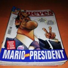Cómics: EL JUEVES. REVISTA.LOTE . NUMEROS DEL 1165 AL 1184. BUEN ESTADO GENERAL.. Lote 171582773