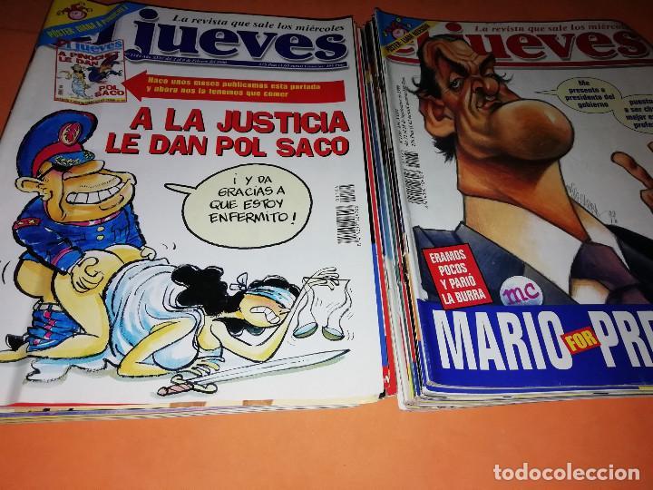 Cómics: EL JUEVES. REVISTA.LOTE . NUMEROS DEL 1165 AL 1184. BUEN ESTADO GENERAL. - Foto 4 - 171582773