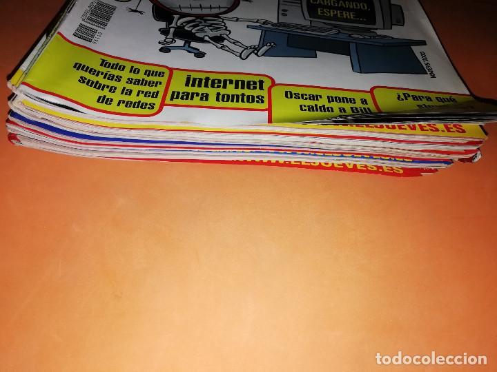 Cómics: EL JUEVES. REVISTA.LOTE . NUMEROS DEL 1196 AL 1207. 12 REVISTAS - Foto 3 - 171583057