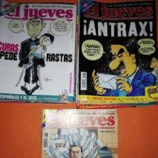 Cómics: EL JUEVES. REVISTA.LOTE . NUMEROS DEL 1275 AL 1335. 61 REVISTAS. BUEN ESTADO GENERAL. Lote 171583510