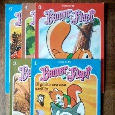 Cómics: BANNER Y FLAPI SERIE DE TV. COLECCION DEL Nº 1 AL 4 Y 6 - COMIC FHER 1979 -. Lote 171586060