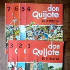 Cómics: DON QUIJOTE DE LA MANCHA. COLECCION COMPLETA Nº 1 AL 7- COMIC SEDMAY 1979 -. Lote 171586462