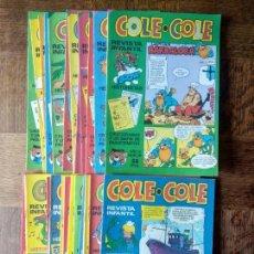 Cómics: COLE COLE REVISTA DE TEBEO INFANTIL. LOTE AVANZADO DE 29 NUMEROS - COMIC BRUGUERA. Lote 171587010
