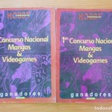Cómics: 1ER CONCURSO NACIONAL MANGAS & VIDEOGAMES - GANADORES VOLUMEN 1 Y 2 - HOBBY CONSOLAS (AM). Lote 171613714