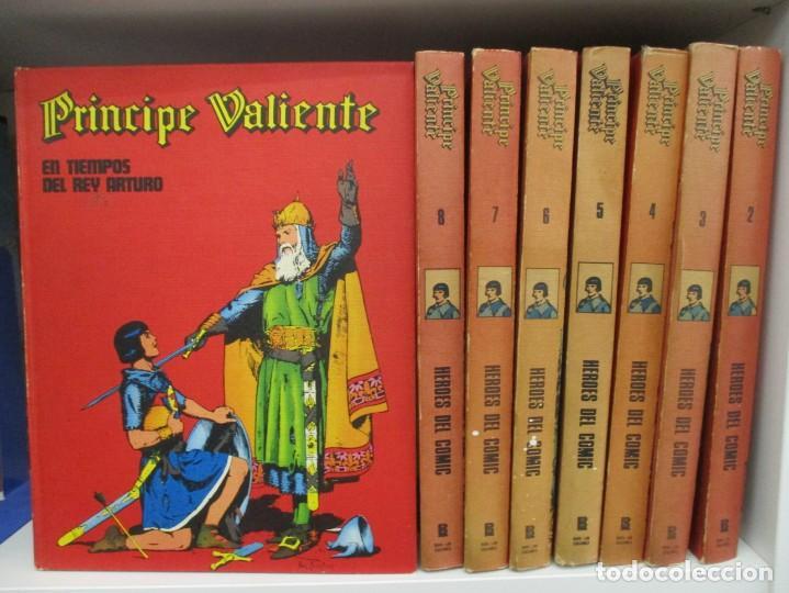 COLECCION COMPLETA EL PRINCIPE VALIENTE - 8 TOMOS - BURU - LAN - BURULAN - HAROLD FOSTER (Tebeos y Comics - Buru-Lan - Principe Valiente)