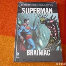 Cómics: SUPERMAN BRAINIAC DC NOVELAS GRAFICAS 31 ( GEOFF JOHNS GARY FRANK ) ¡PRECINTADO! SALVAT ECC. Lote 171650615