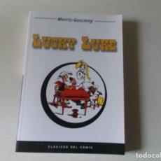 Cómics: LUCKY LUKE, MORRIS - GOSCINNY, CLASICOS DEL COMIC. 2004 208 PAGINAS. Lote 171712009