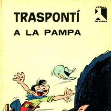 Cómics: TRASPONTÍ A LA PAMPA (JAIMES LIBROS, 1970) DE BERCK I GOSCINNY. TAPA DURA. EN CATALÀ.. Lote 171715818