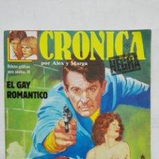 Cómics: CRONICA NEGRA POR ALEX Y MARGA, Nº 10, AÑO 1988. Lote 171746795