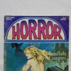 Cómics: HORROR, Nº 38, LA DENTELLADA DEL VAMPIRO, AÑO 1984. Lote 171747655